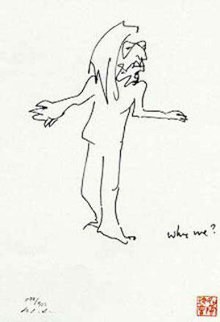 Why Me? and Why Not Suite of 2  1981 Limited Edition Print - John Lennon