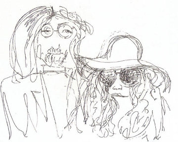 Ballad of John and Yoko Limited Edition Print by John Lennon