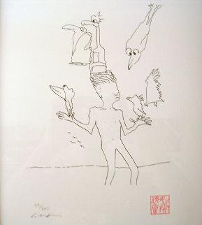 Magic Birds 1996 Limited Edition Print by John Lennon