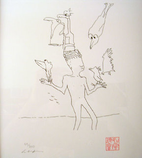 Magic Birds 1996 Limited Edition Print - John Lennon