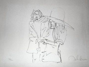Exchange of Rings, HS from Bag One Suite 1969 Limited Edition Print by John Lennon