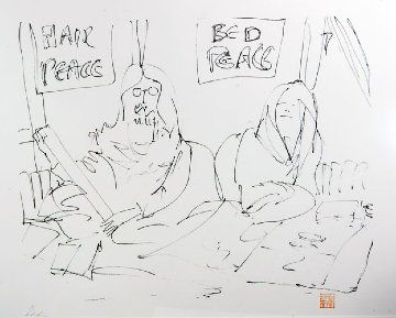 We Made Our Bed 1996 Limited Edition Print - John Lennon