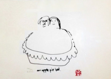 American ( Apple Pie) Pie Bed 1988 Limited Edition Print by John Lennon
