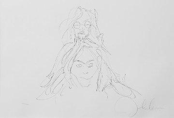 John and Yoko HS Limited Edition Print by John Lennon