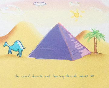 Camel Dances 1999 Limited Edition Print - John Lennon