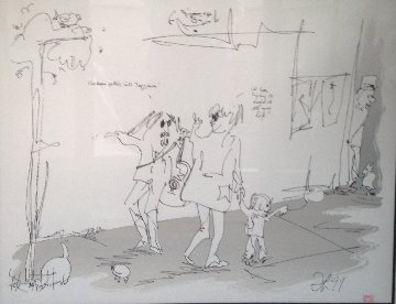 Jazz Man 1991 Limited Edition Print by John Lennon