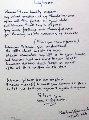 Lyrics: Woman - Lyrics 1995 Limited Edition Print - John Lennon
