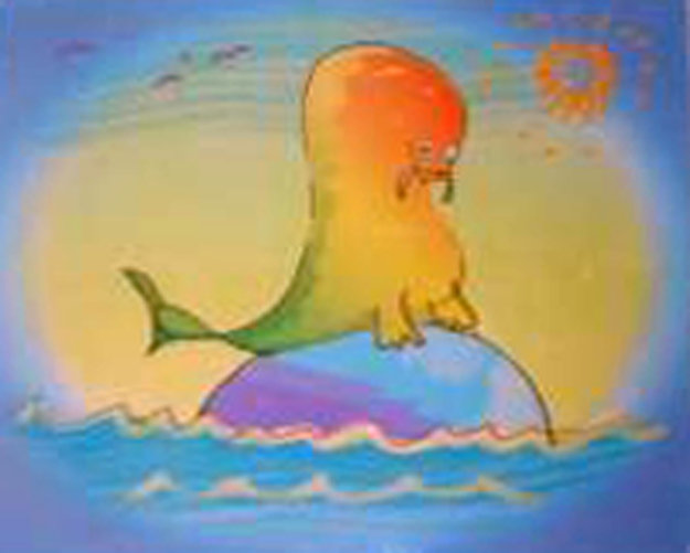 Walrus Wading 2000 Limited Edition Print by John Lennon