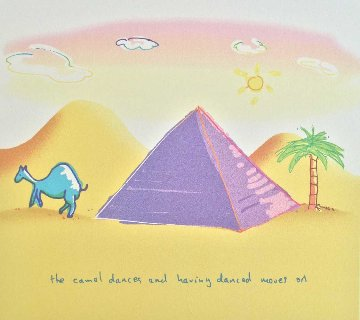 Camel Dances 1999 Limited Edition Print by John Lennon