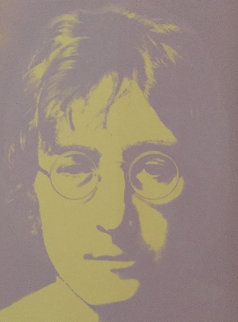 Portraits:  3 Silk Screened Portraits  1990 Limited Edition Print - John Lennon