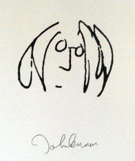 Lyrics: Solo Years - Series Includes a Lennon Self Portrait - Set of 12 Limited Edition Print - John Lennon