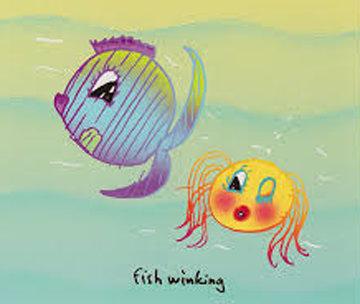 Fish Winking 1999 Limited Edition Print - John Lennon