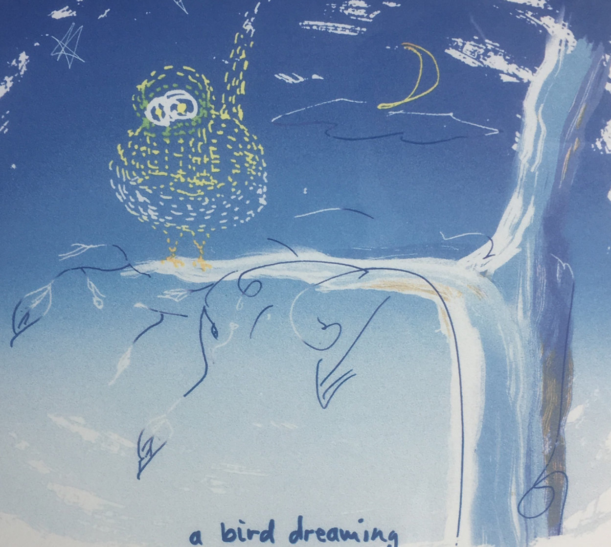A Bird Dreaming 1999 Limited Edition Print by John Lennon