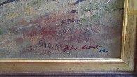 Flying Artillery 47x37 Original Painting by John Leone - 3