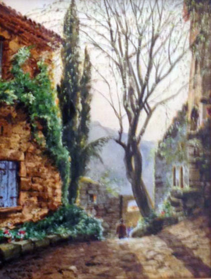 Morning Light Watercolor 19x15 Watercolor by Jack Lestrade