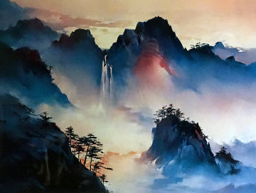 Valley of the Clouds 1991 Limited Edition Print by Hong Leung