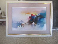 Voyage of the Dawn 1990 32x42 Original Painting by Hong Leung - 1
