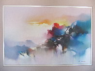 Voyage of the Dawn 1990 32x42 Original Painting by Hong Leung - 2