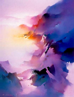 Rainbow Mountain 1990 Limited Edition Print - Hong Leung