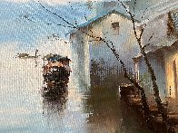 Moment 2017  35x60  Original Painting by Hong Leung - 1
