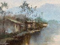 Moment 2017  35x60  Original Painting by Hong Leung - 4
