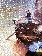 Watertowns Morning 2018 35x23 Original Painting by Hong Leung - 6