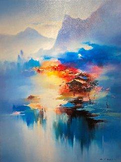 Twilight Mist II 2018 48x36 Super Huge Limited Edition Print - Hong Leung