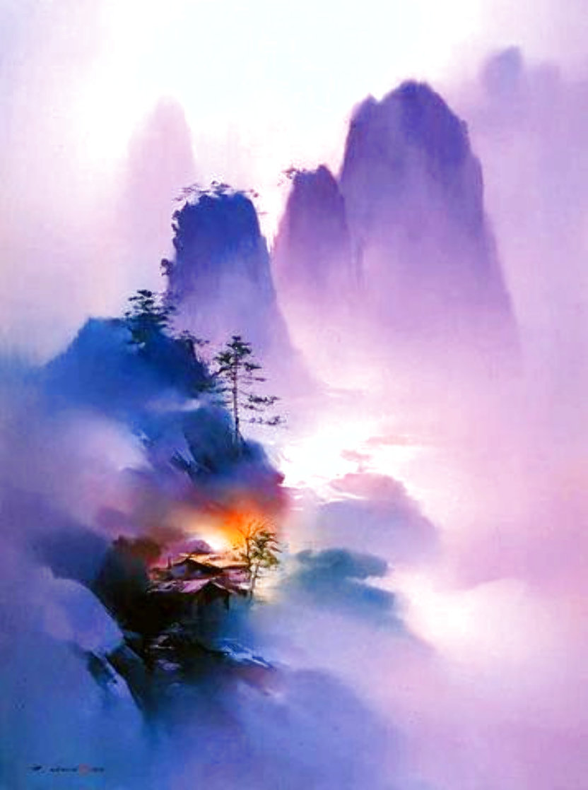 Purple Mists 1996 Limited Edition Print by Hong Leung