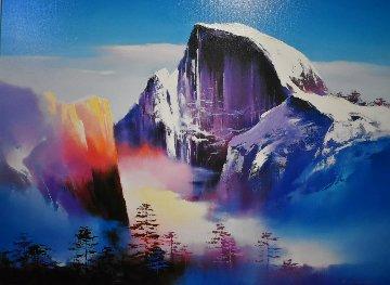 Half Dome AP 1995 26x35 Yosemite Limited Edition Print - Hong Leung
