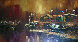 Untitled Painting 30x54 Original Painting by Hong Leung - 0