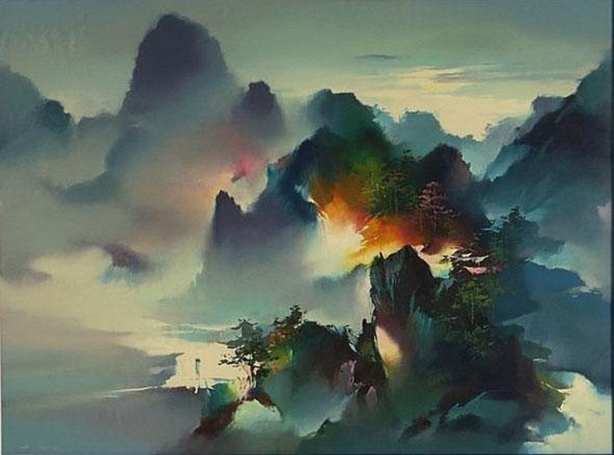 Mountain Rhapsody 1991 Limited Edition Print by Hong Leung