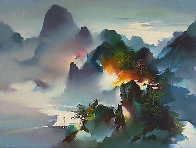 Mountain Rhapsody 1991 Limited Edition Print by Hong Leung - 1