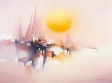 Morning Sun 1981 Limited Edition Print by Hong Leung