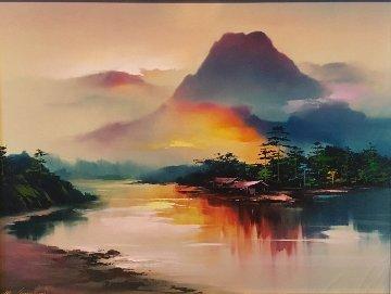 River Dusk 1993 Limited Edition Print - Hong Leung