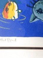 Moonlit Beach 1997 Limited Edition Print by Michael Leu - 2