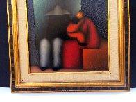La Familia 2009 27x23 Original Painting by Jesus Leuus - 2
