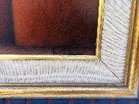 La Familia 2009 27x23 Original Painting by Jesus Leuus - 8