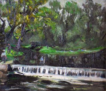 Bronx, N Y 1937 10x12 Original Painting by Hayley Lever