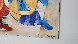 Untitled Music 39x47 Original Painting by Dorit Levi - 1
