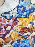 Untitled Painting 2000 43x43 Super Huge Original Painting by Dorit Levi - 2