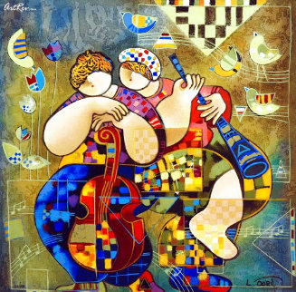 Serenade For Two  HS Limited Edition Print - Dorit Levi