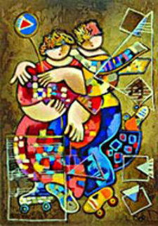 Moonlight Dancing 2004 Limited Edition Print by Dorit Levi