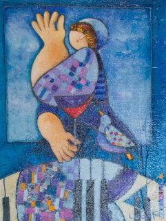 Awakening 2009 16x12 Original Painting by Dorit Levi