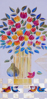 Untitled Painting 2011 24x30 Original Painting by Dorit Levi