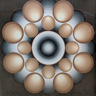Concentric Limited Edition Print by Lev Moross