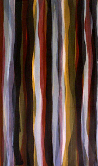 Brushstrokes in Different Colors in Two Directions - Set of 6 1993 Limited Edition Print by Sol LeWitt