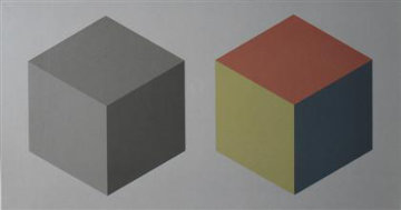 2 Cubes 1989 Limited Edition Print by Sol LeWitt
