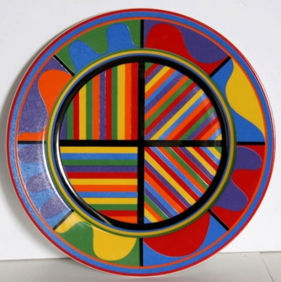 Ceramic Plate Sculpture 2006 Sculpture by Sol LeWitt