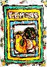 Lemons #8 7x5 Original Painting by Leslie Lew - 0