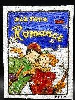 Ski Romance 16x12 Original Painting by Leslie Lew - 1